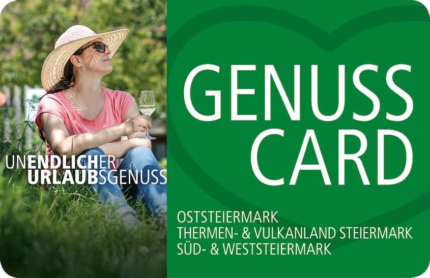 GenussCard Steiermark