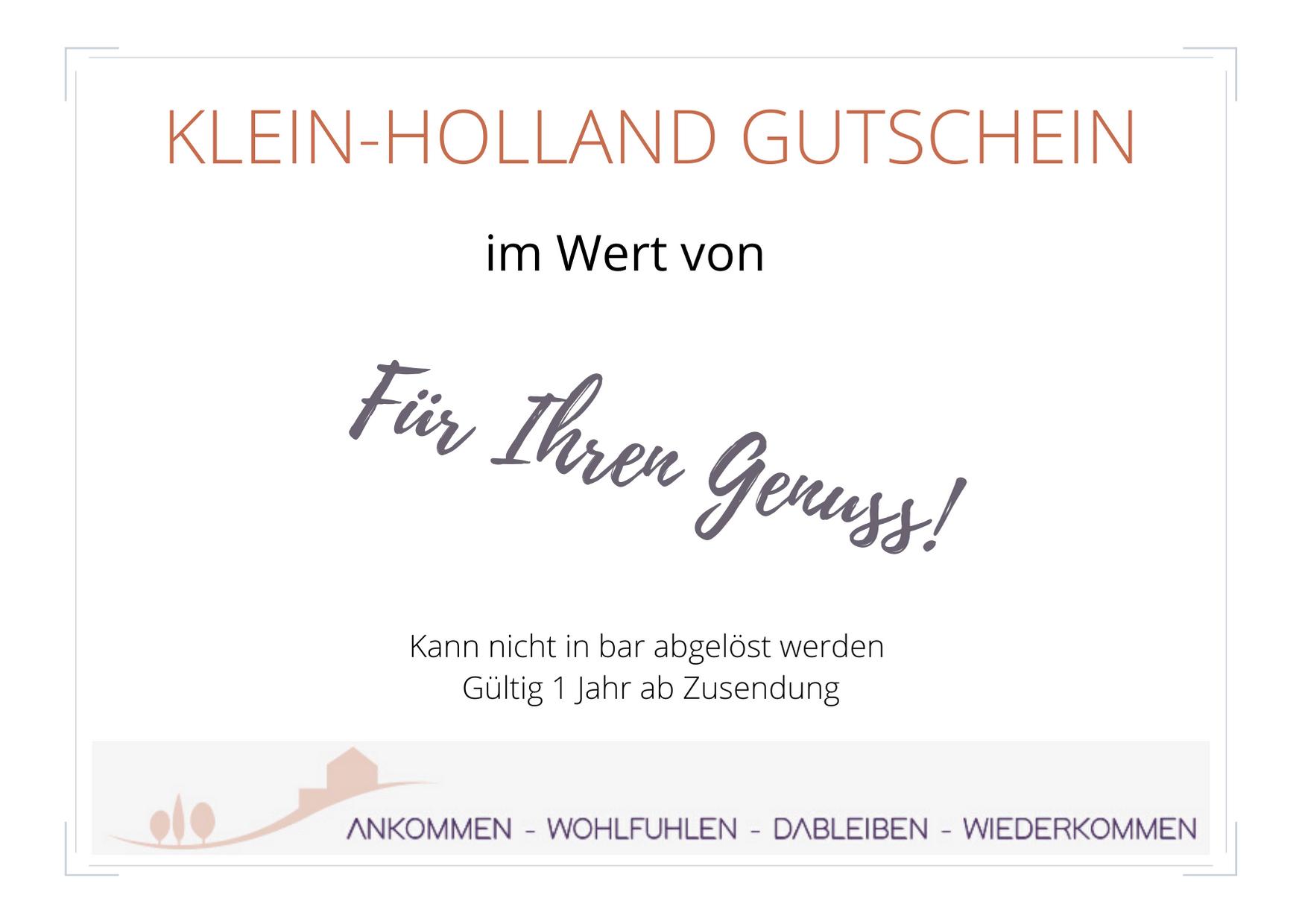Klein-Holland Voucher
